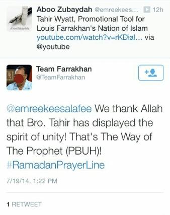Tahir Wyatt, Shadeed Muhammad and the 'Nation of Islam': Part 4